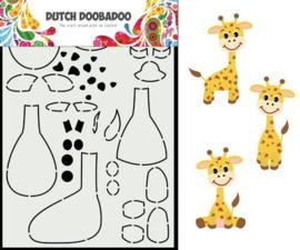 Card Art Build Up Giraf - A5