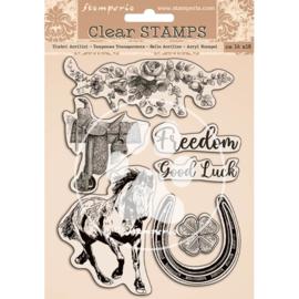 Romantic Horses - Clearstamp