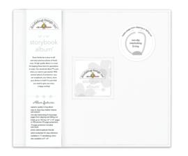 Design Storybook Album - White
