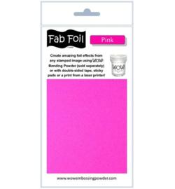 Wow! Fabulous Foil Pink