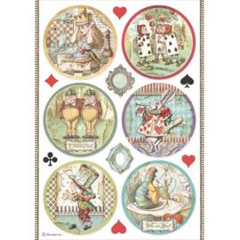 Alice Rounds - Rijstpapier A4
