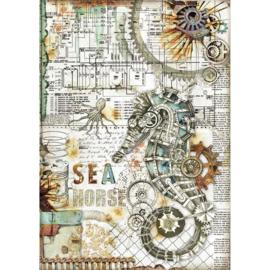 Seahorse - Rijstpapier A4