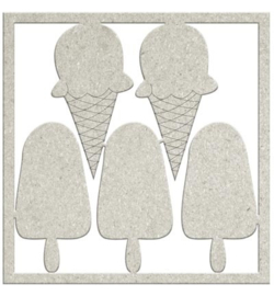 Cones & Lollies - Chipboard