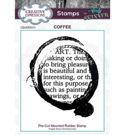 Coffee Art - Clingstamp