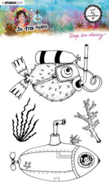 Stamp So-Fish-Ticated nr.12 - Clearstamp