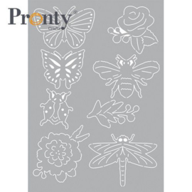Insecten - Stencil A5