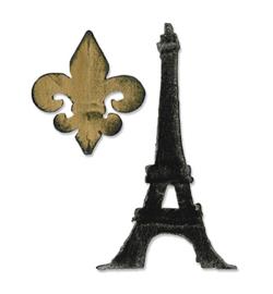 Fleur de Lis & Eiffel Tower - Stans