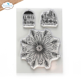 Autumn Leaves - Clearstamp