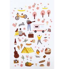 Spring - Mini Stickers