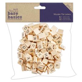 Wooden Tile Letters - Decoratie Hout