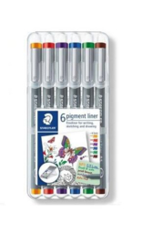 Pigment Liner Fineliner  0,5 mm - Box 6 pcs