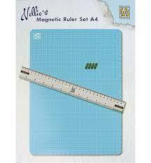 Magnetic Ruler set - A4