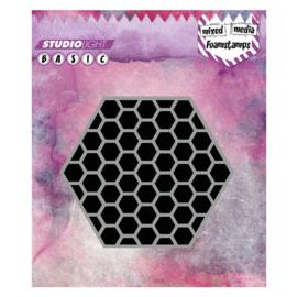 Mixed Media nr 09 Hexagon - Foamstamp