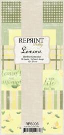 Lemons Slimline Paper Pack