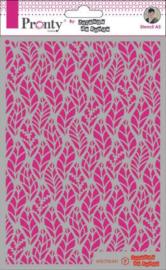 Mask Pattern Leaves - Stencil A5