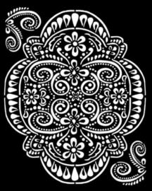 Amazonia Lace - Thick Stencil (0,5 mm)