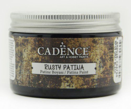 Grijs-Zwart - Rusty Patina