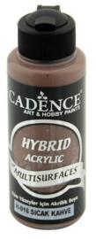 Warm Bruin - Hybride Acrylverf