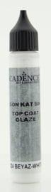 Top Coat Glaze - voor Beton effect Wit