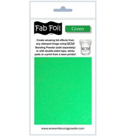 Wow! Fabulous Foil Green