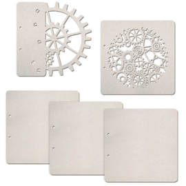 Industrial - Chipboard Pages