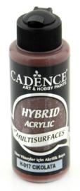 Chocolade - Hybride Acrylverf