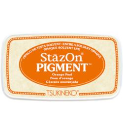 StazOn Pigment Orange Peel