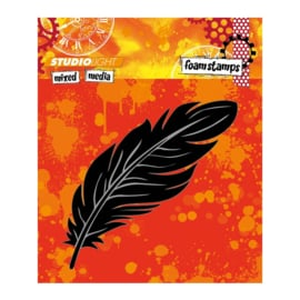 Mixed Media nr 05 Feather - Foamstamp