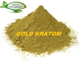 Gold Kratom - mixed vein - Mitragyna Speciosa