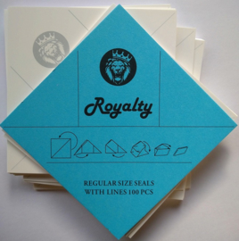 Royalty envelopjes 1 gram