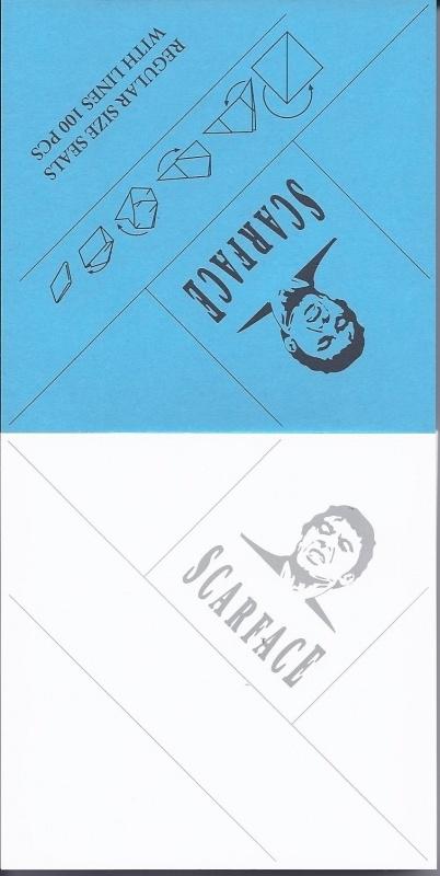 Scarface envelopjes 1/2 gram
