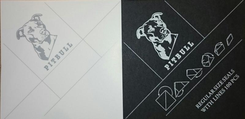Pitbull envelopjes 1/2 gram
