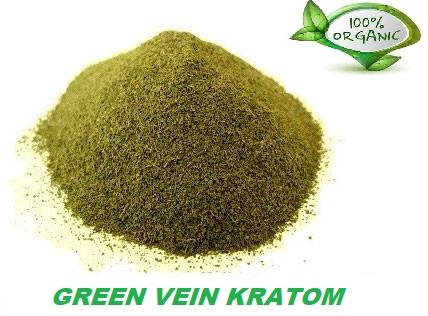 Viëtnam Kratom Green Vein - Mitragyna Speciosa