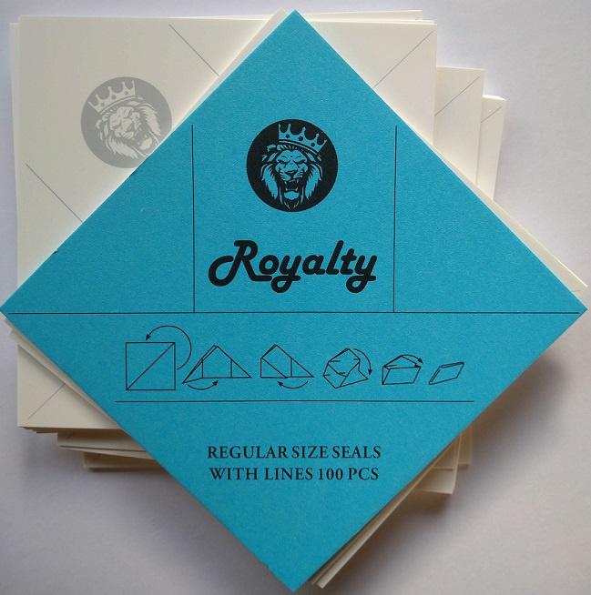 Royalty envelopjes 1 gram
