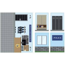 iWallz politie station stickers