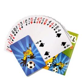 Mini speelkaarten voetbal