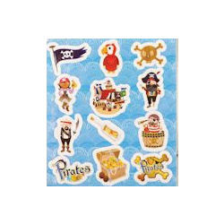 Fun stickers Piraat