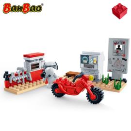 Snoopy motor werkplaats