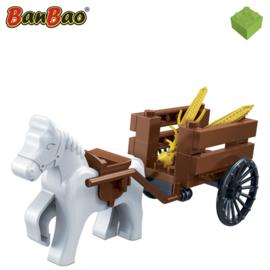 BanBao Paard en kar