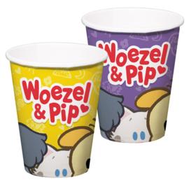 Woezel en Pip Bekers 8 st.