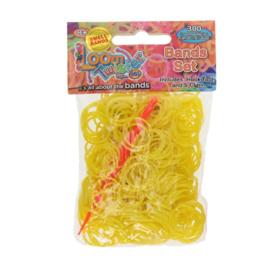Loom Twister bandjes geel