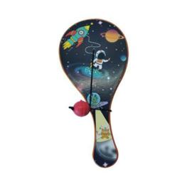 Racket met bal ruimtevaart