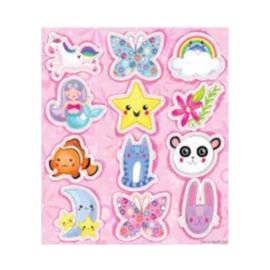 Fun stickers schattige dieren