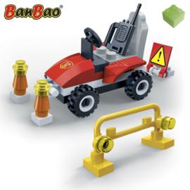 BanBao brandweer mini auto
