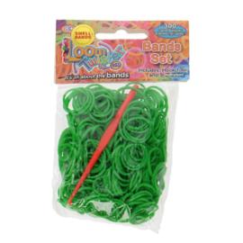 Loom Twister bandjes groen