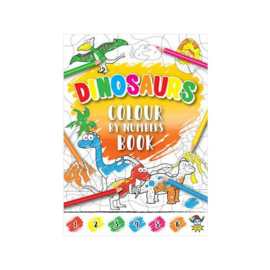Dinosaurus kleurboekje