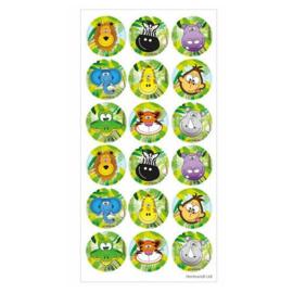 Fun stickers jungle dieren