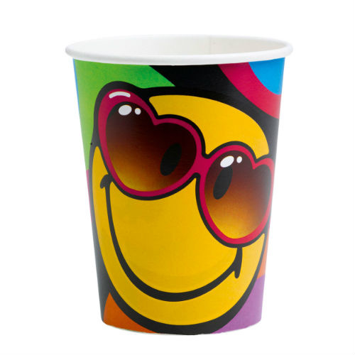 Smiley Express bekers 8 st