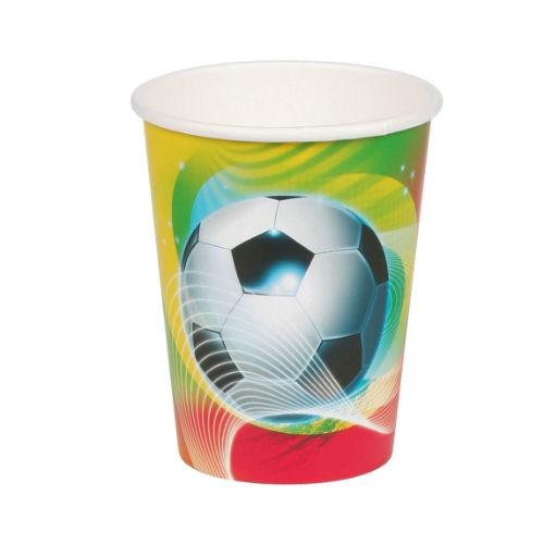 Voetbal bekers 8 st