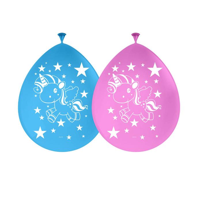 Eenhoorn Ballonnen 8st